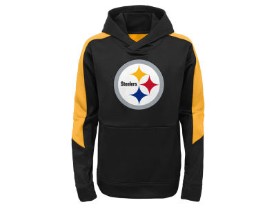 Pittsburgh Steelers Outerstuff NFL Kids Hyperlink Hoodie