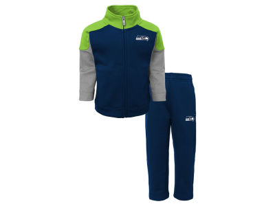 Seattle Seahawks Outerstuff NFL Toddler Gridiron Pant Set