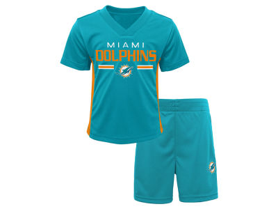 Miami Dolphins Outerstuff NFL Toddler Double Short Set