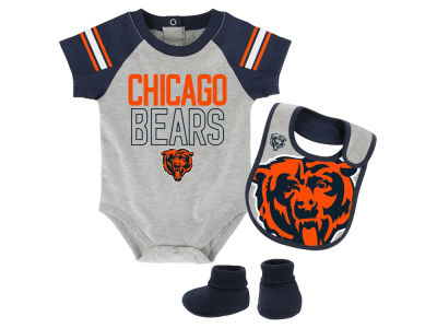 Chicago Bears Outerstuff NFL Newborn Blitz Creeper Set