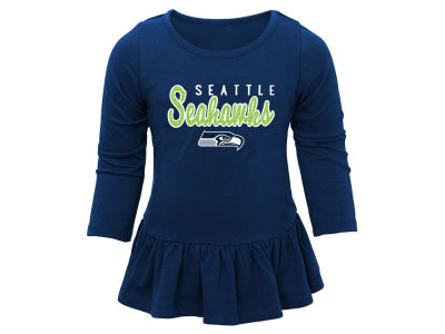 Seattle Seahawks Outerstuff NFL Kids Girls Tiny Trainer Pant Set