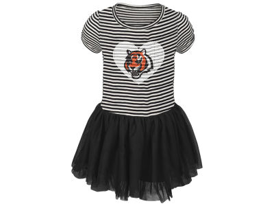 Cincinnati Bengals Outerstuff NFL Toddler Girls Celebration Tutu Dress