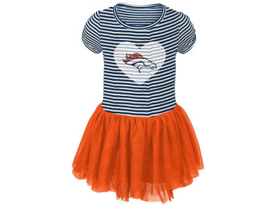 Denver Broncos Outerstuff NFL Toddler Girls Celebration Tutu Dress