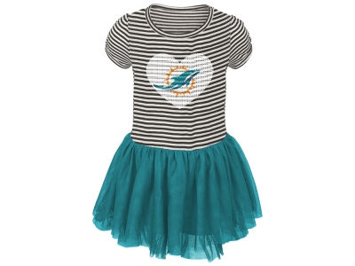 Miami Dolphins Outerstuff NFL Toddler Girls Celebration Tutu Dress