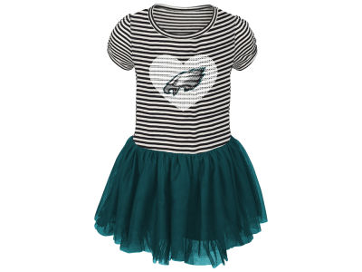 Philadelphia Eagles Outerstuff NFL Toddler Girls Celebration Tutu Dress