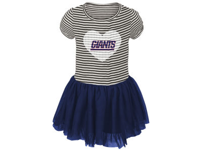 New York Giants Outerstuff NFL Toddler Girls Celebration Tutu Dress