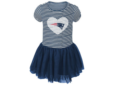 New England Patriots Outerstuff NFL Toddler Girls Celebration Tutu Dress