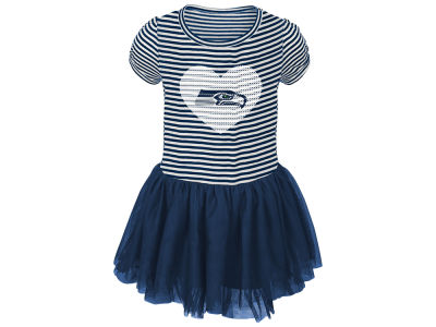 Seattle Seahawks Outerstuff NFL Toddler Girls Celebration Tutu Dress