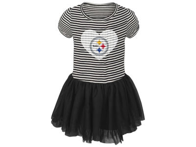 Pittsburgh Steelers Outerstuff NFL Toddler Girls Celebration Tutu Dress
