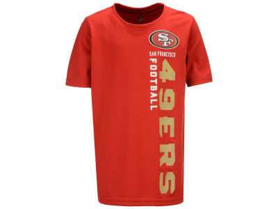 San Francisco 49ers Outerstuff NFL Youth Vertical Gravity Field T-Shirt