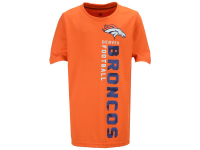 Denver Broncos Outerstuff NFL Youth Vertical Gravity Field T-Shirt