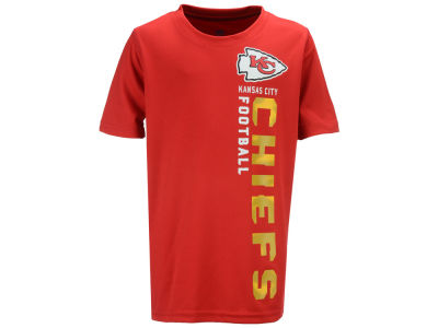 Kansas City Chiefs Outerstuff NFL Youth Vertical Gravity Field T-Shirt