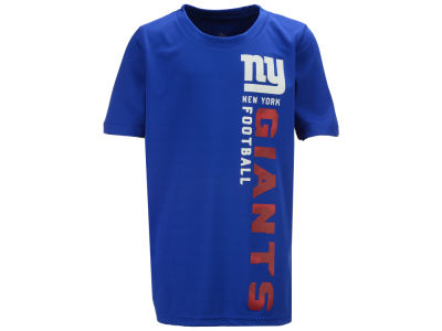 New York Giants Outerstuff NFL Youth Vertical Gravity Field T-Shirt