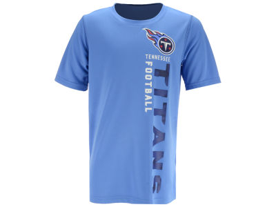 Tennessee Titans Outerstuff NFL Youth Vertical Gravity Field T-Shirt