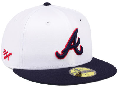 Atlanta Braves Planes MLB X Americana 59FIFTY Cap