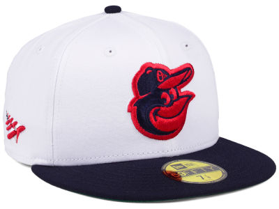 Baltimore Orioles Planes MLB X Americana 59FIFTY Cap