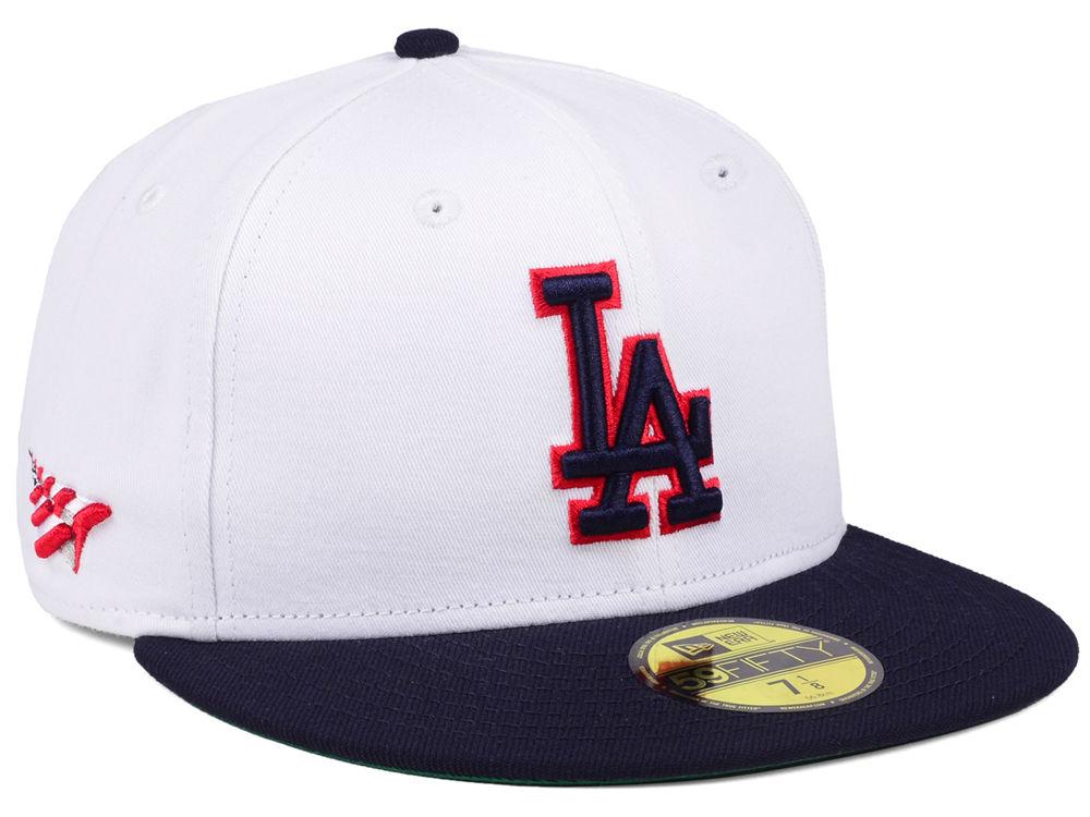 Los Angeles Dodgers Planes Mlb X Americana 59fifty Cap Lids
