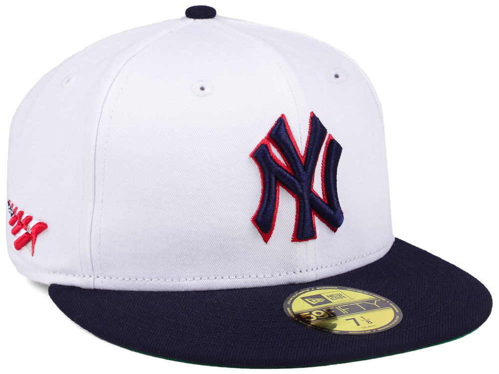 New York Yankees Planes MLB X Americana 59FIFTY Cap  4e907f00dccd