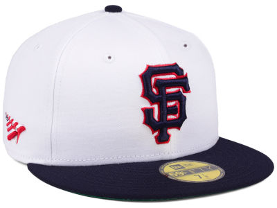 San Francisco Giants Planes MLB X Americana 59FIFTY Cap