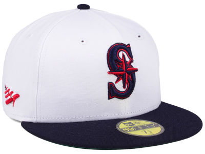 Seattle Mariners Planes MLB X Americana 59FIFTY Cap