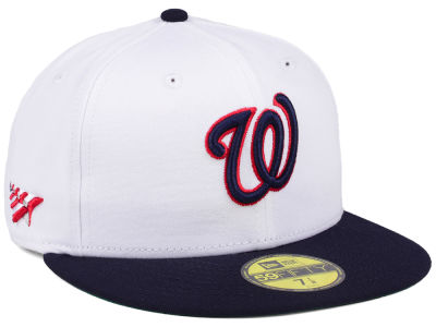 Washington Nationals Planes MLB X Americana 59FIFTY Cap