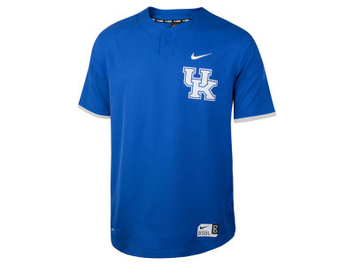Kentucky Wildcats Nike NCAA Men's Full Button Vapor Elite Baseball Jersey