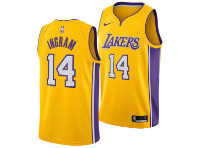 Los Angeles Lakers Brandon Ingram Nike NBA Men's Icon Swingman Jersey