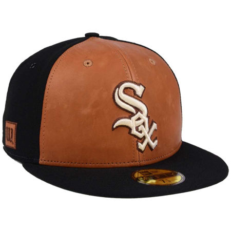 Chicago White Sox New Era MLB X Wilson Leather Front 59FIFTY Cap