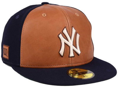 New York Yankees New Era MLB X Wilson Leather Front 59FIFTY Cap