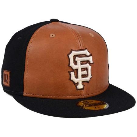 San Francisco Giants New Era MLB X Wilson Leather Front 59FIFTY Cap