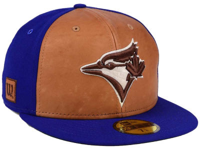 Toronto Blue Jays New Era MLB X Wilson Leather Front 59FIFTY Cap