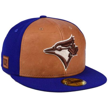 Toronto Blue Jays New Era MLB X Wilson Leather Front 59FIFTY Cap