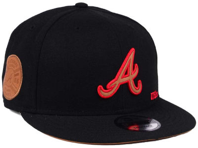 Atlanta Braves New Era MLB X Wilson Side Hit 9FIFTY Snapback Cap
