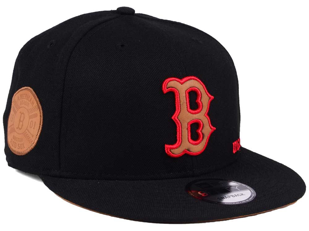 hot sale online 50191 909db norway boston red sox new era mlb x wilson side hit 9fifty snapback cap  8ab58 31c44