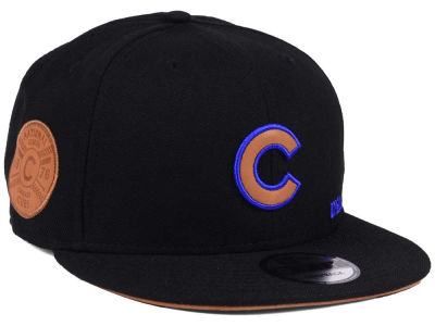 Chicago Cubs New Era MLB X Wilson Side Hit 9FIFTY Snapback Cap
