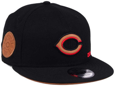 Cincinnati Reds New Era MLB X Wilson Side Hit 9FIFTY Snapback Cap