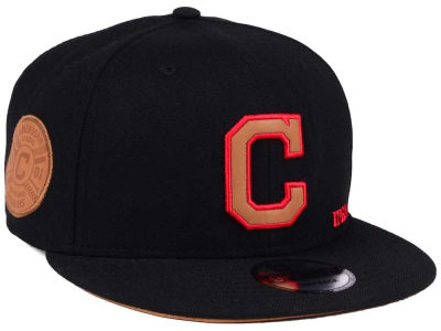 Cleveland Indians New Era MLB X Wilson Side Hit 9FIFTY Snapback Cap
