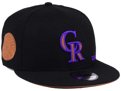 Colorado Rockies New Era MLB X Wilson Side Hit 9FIFTY Snapback Cap