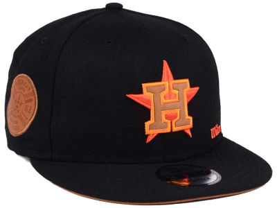 Houston Astros New Era MLB X Wilson Side Hit 9FIFTY Snapback Cap