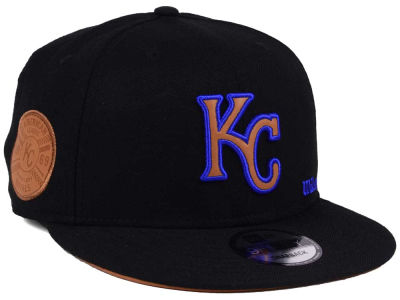 bcfc873f4 real kansas city royals new era mlb metal framed 9fifty snapback cap ...