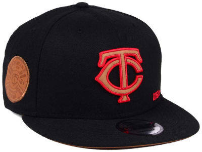 Minnesota Twins New Era MLB X Wilson Side Hit 9FIFTY Snapback Cap