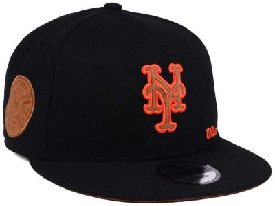 New York Mets New Era MLB X Wilson Side Hit 9FIFTY Snapback Cap