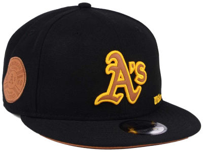 Oakland Athletics New Era MLB X Wilson Side Hit 9FIFTY Snapback Cap