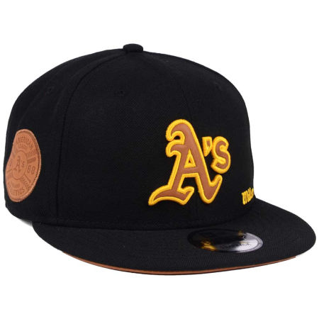Oakland Athletics New Era MLB X Wilson Side Hit 9FIFTY Snapback Cap