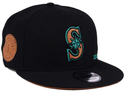 Seattle Mariners New Era MLB X Wilson Side Hit 9FIFTY Snapback Cap