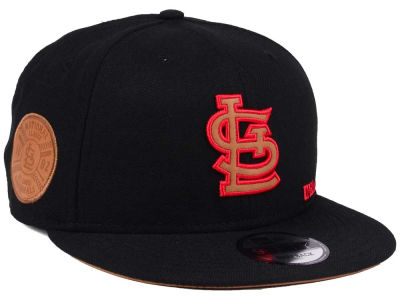 St. Louis Cardinals New Era MLB X Wilson Side Hit 9FIFTY Snapback Cap