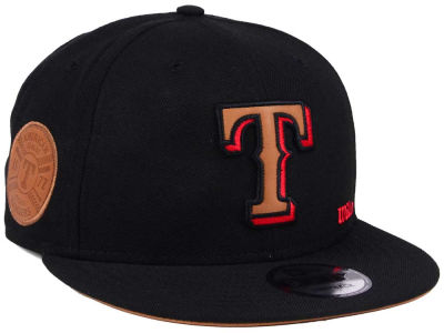 Texas Rangers New Era MLB X Wilson Side Hit 9FIFTY Snapback Cap