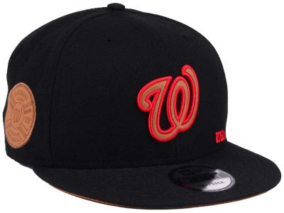 Washington Nationals New Era MLB X Wilson Side Hit 9FIFTY Snapback Cap