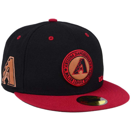 Arizona Diamondbacks New Era MLB X Wilson Circle Patch 59FIFTY Cap