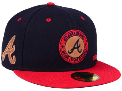Atlanta Braves New Era MLB X Wilson Circle Patch 59FIFTY Cap